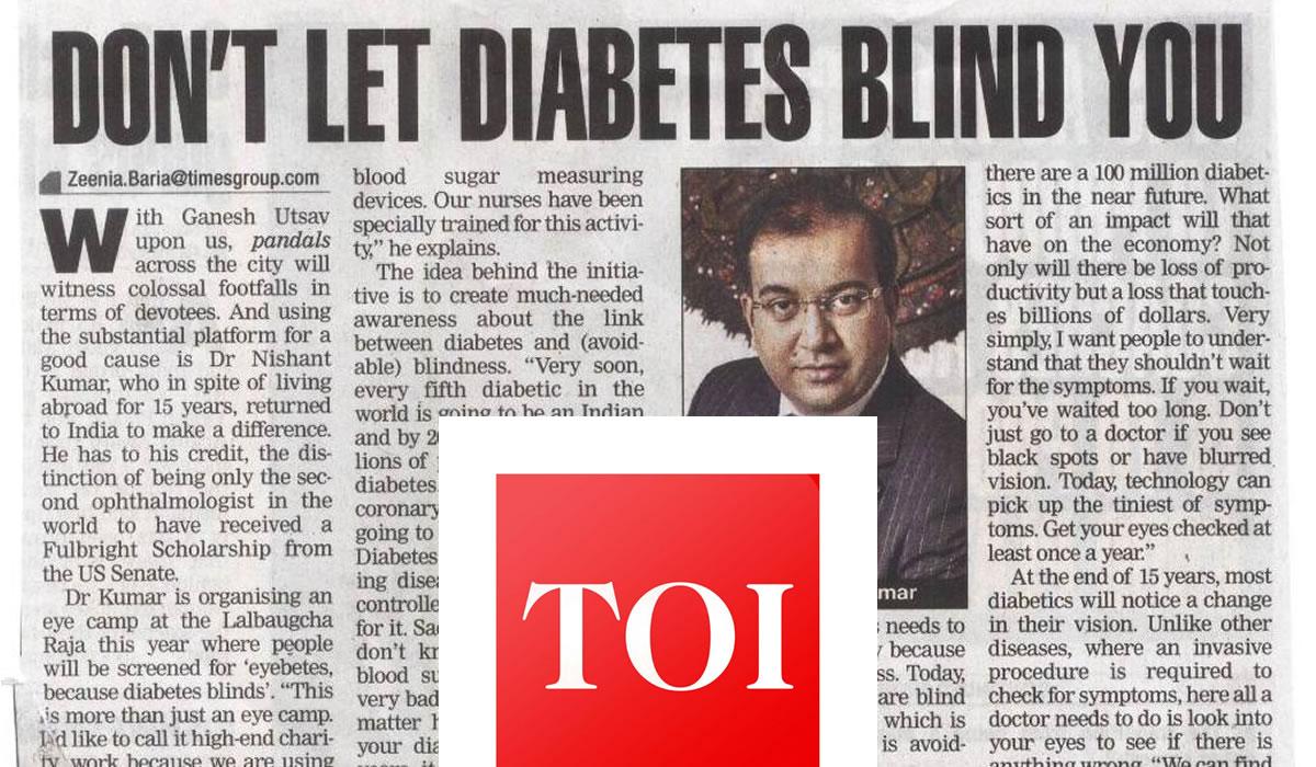 diabetes blind